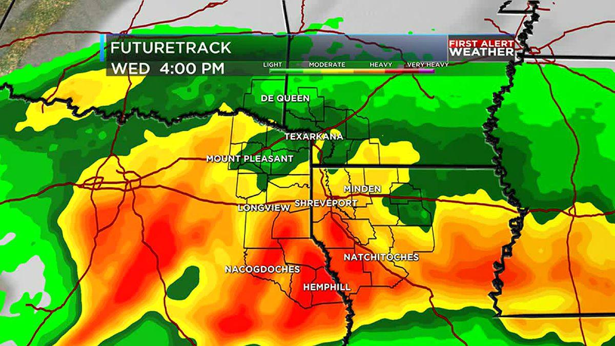 Rain returning to the ArkLaTex starting this weekend