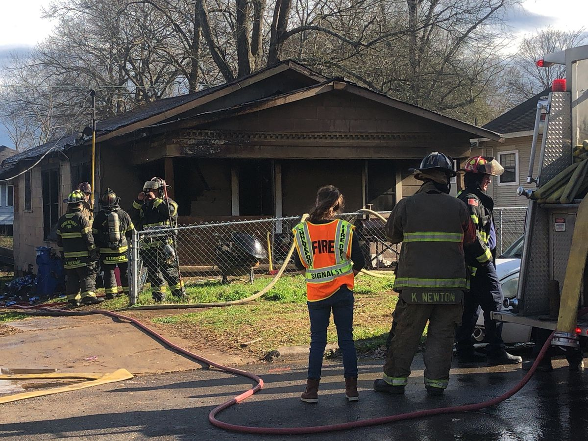 Home destroyed in fire on Queens Highway