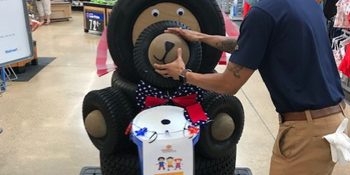 Walmart stores get creative to raise money for Children's Miracle Network