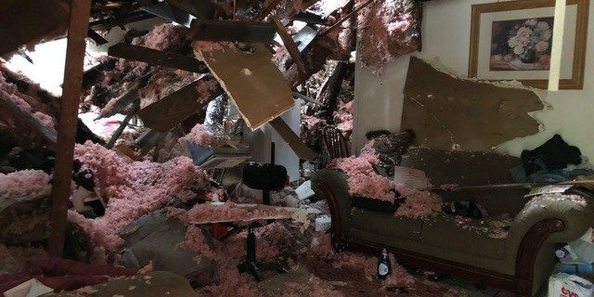 Queensborough residents begin cleaning up after severe weather