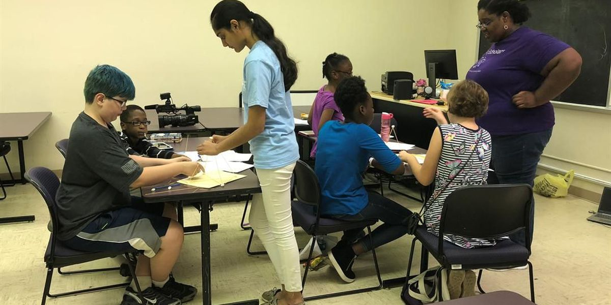 STEM camps continue in Shreveport