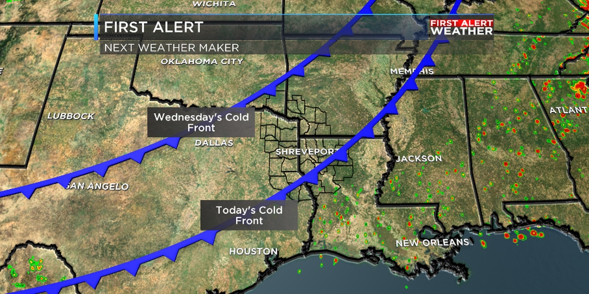 FIRST ALERT: Tracking two cold fronts this week