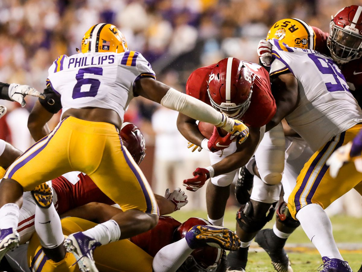 LSU, Alabama not scheduled for primetime on CBS