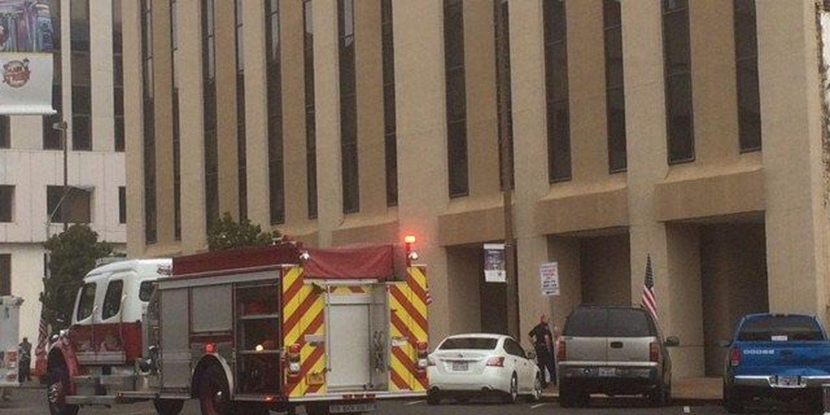 Fire in downtown Texarkana, AR building causes evacuations