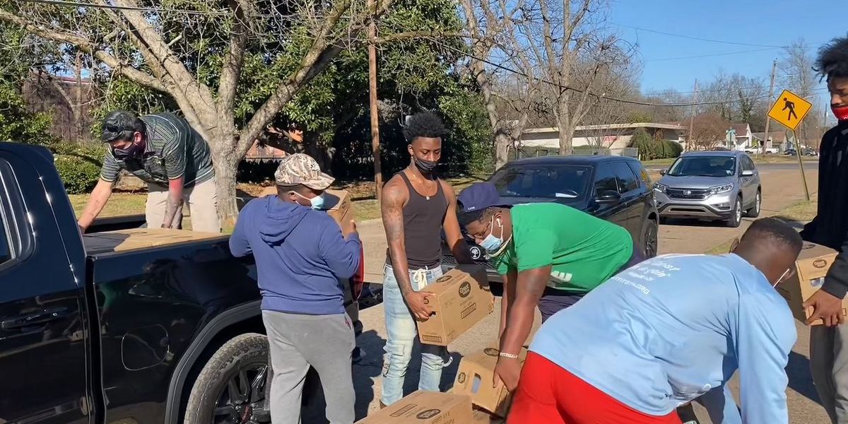 Volunteers, donors step up with water to help