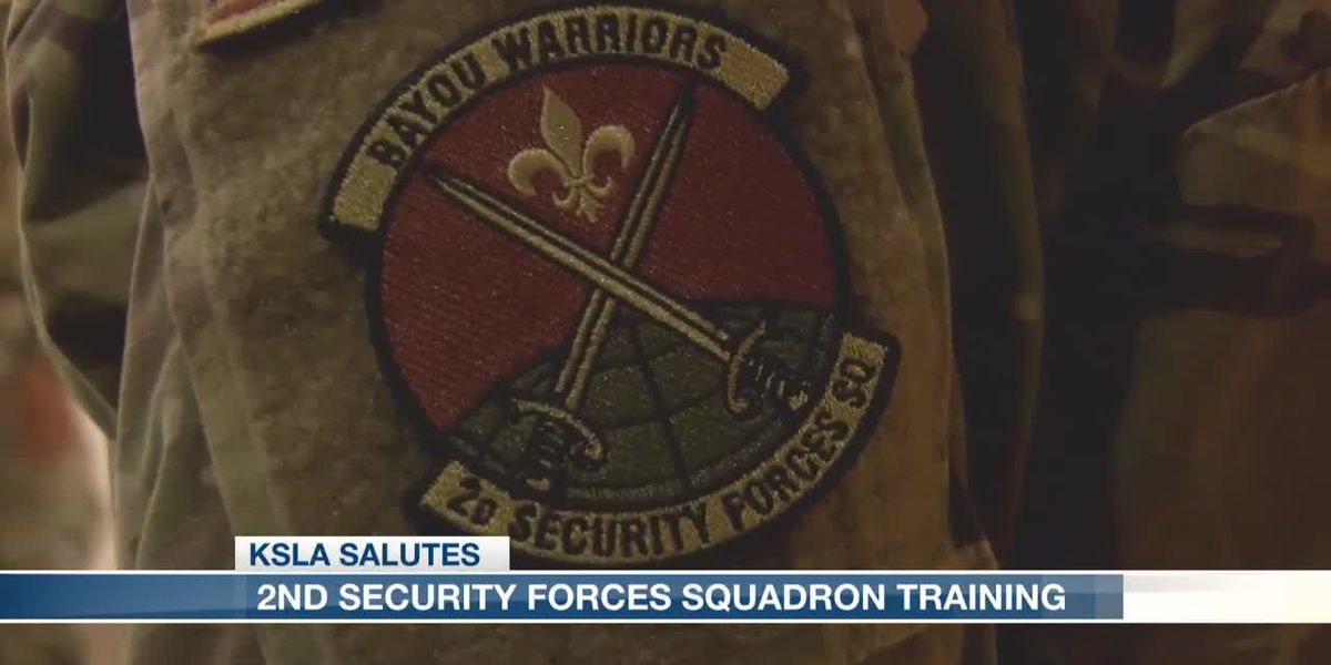 2nd Security Forces Squadron Training