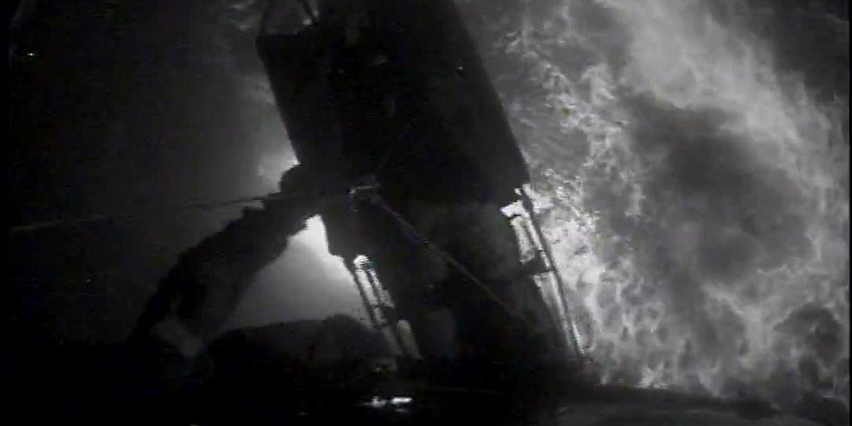 Coast Guard medevacs injured man 46 miles off Cameron coast