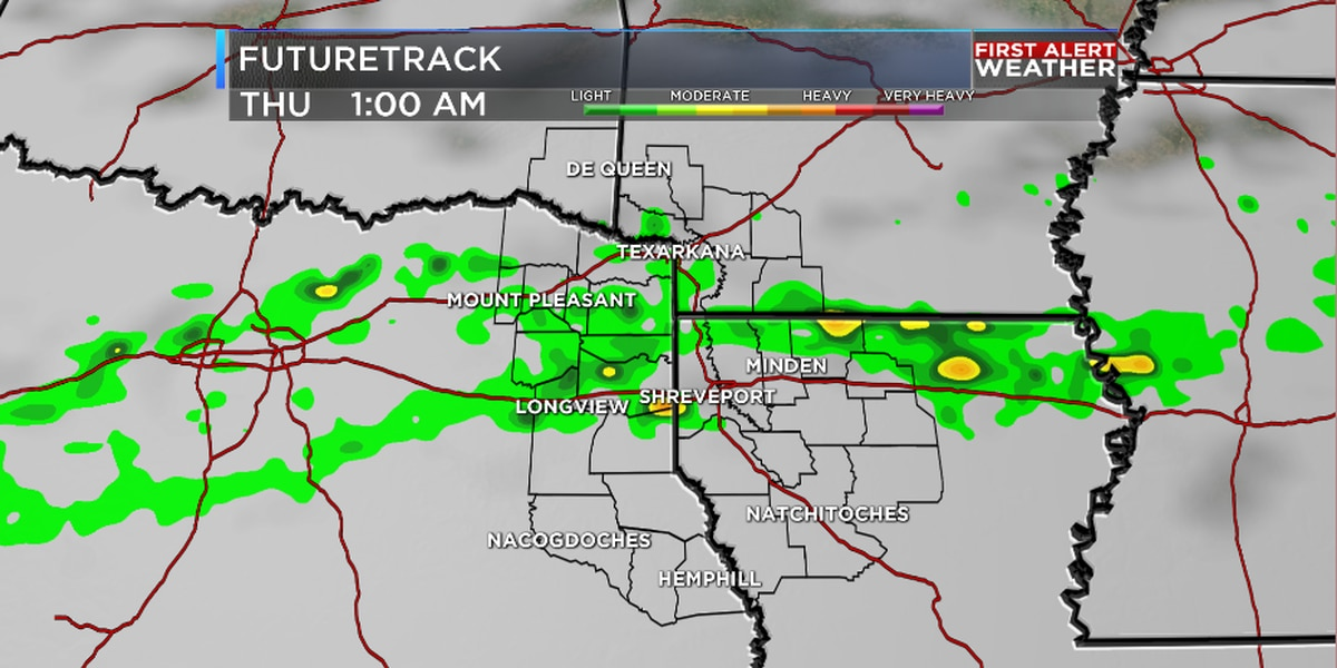 Rainy work week continues; why it's needed in the ArkLaTex