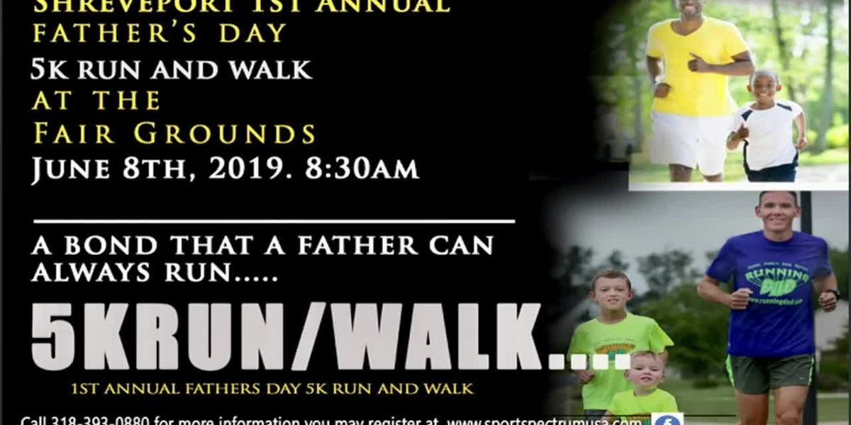 IN STUDIO: Father's Day 5K/Run Walk event