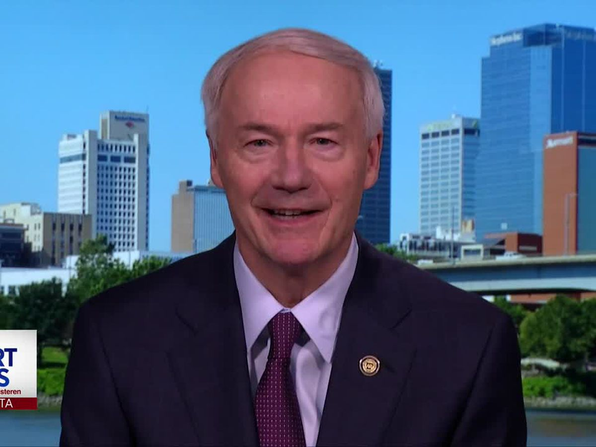 LIVE: Gov. Hutchinson discusses weekend protests in Arkansas, across the nation