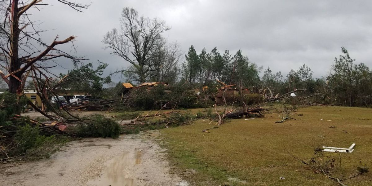 Tornado responsible for one fatality in Rosepine, traveled 63 miles from DeRidder to Alexandria