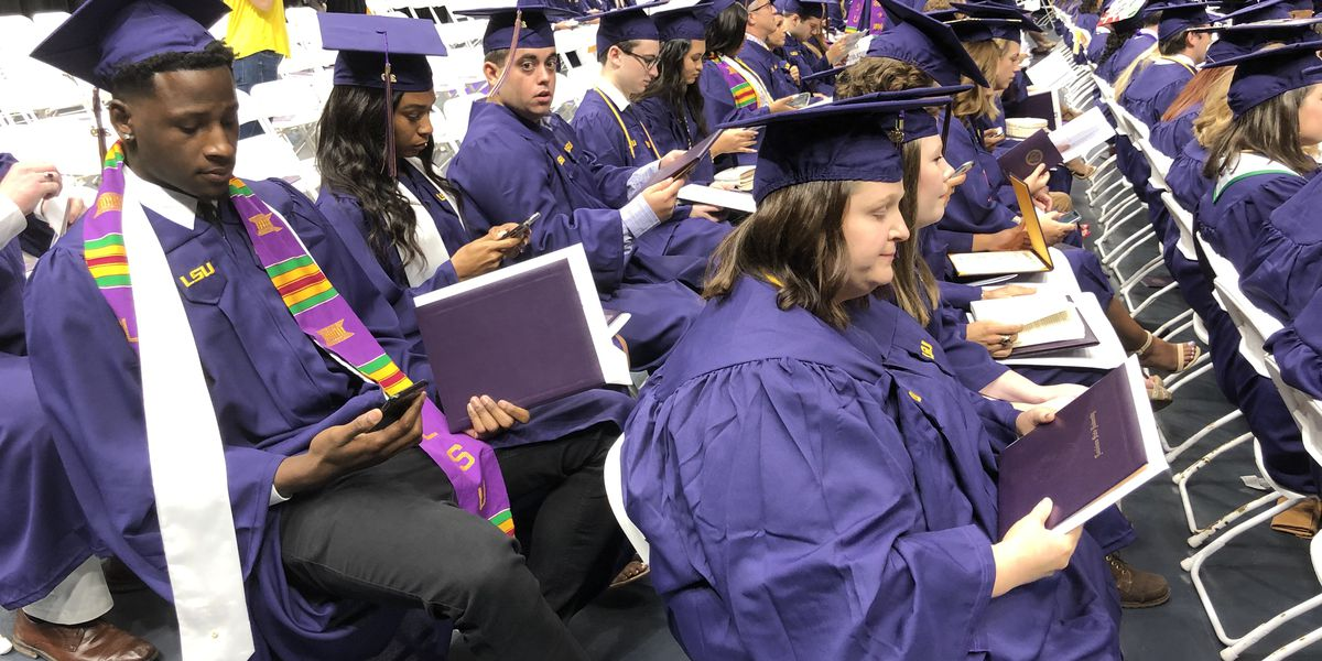 LSU set to hold spring commencement in person with updated guidelines